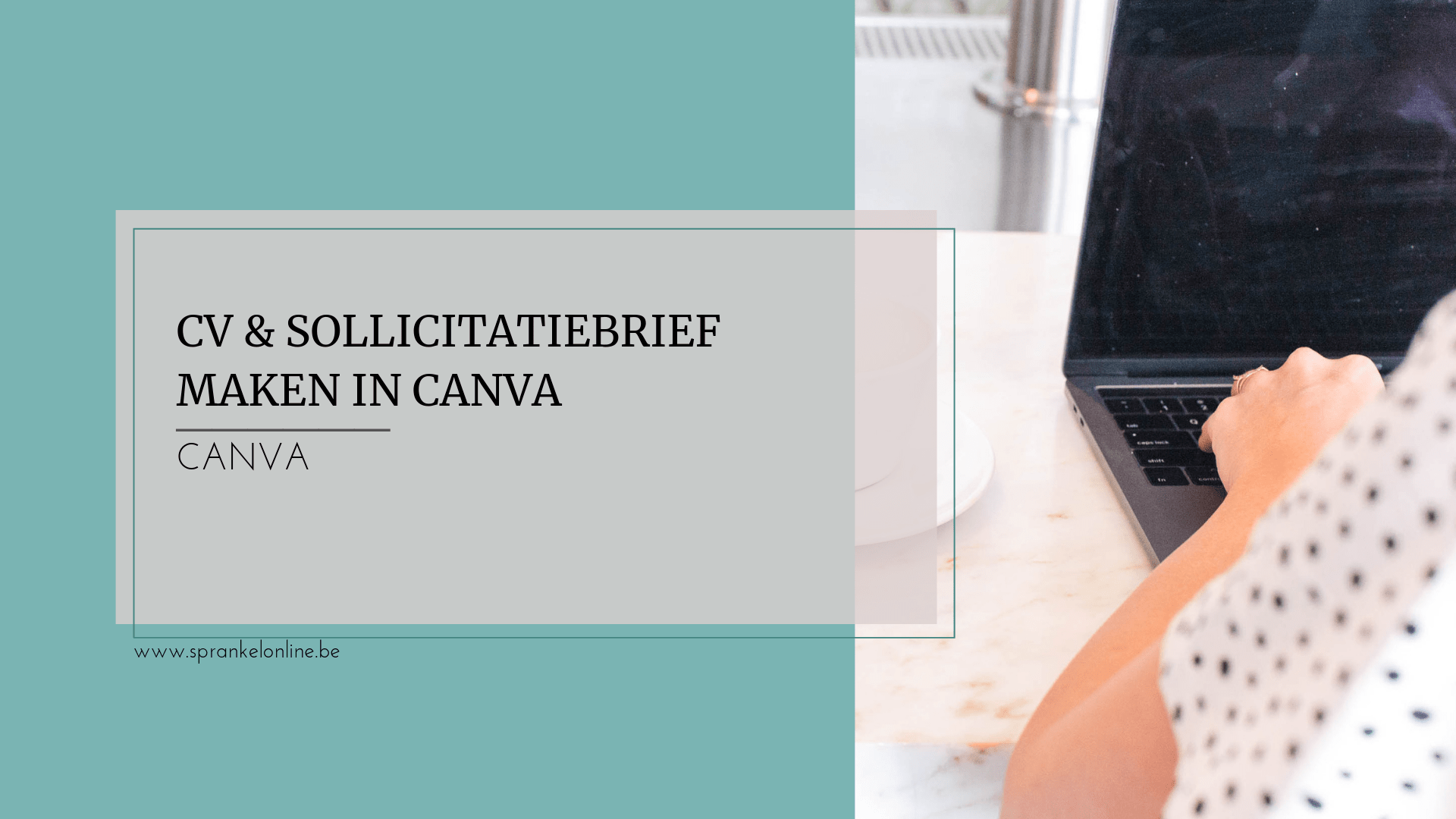 CV maken in Canva