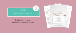 Ebook Template maken in Canva