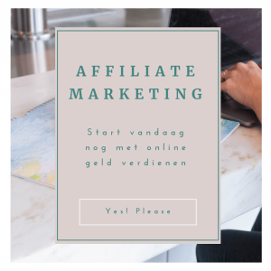 Affiliate Marketing Jacko Meijaard