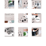 Instagram Puzzle Feed 9 Foto's