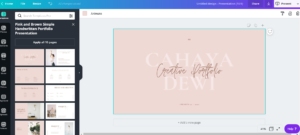 Powerpoint Canva