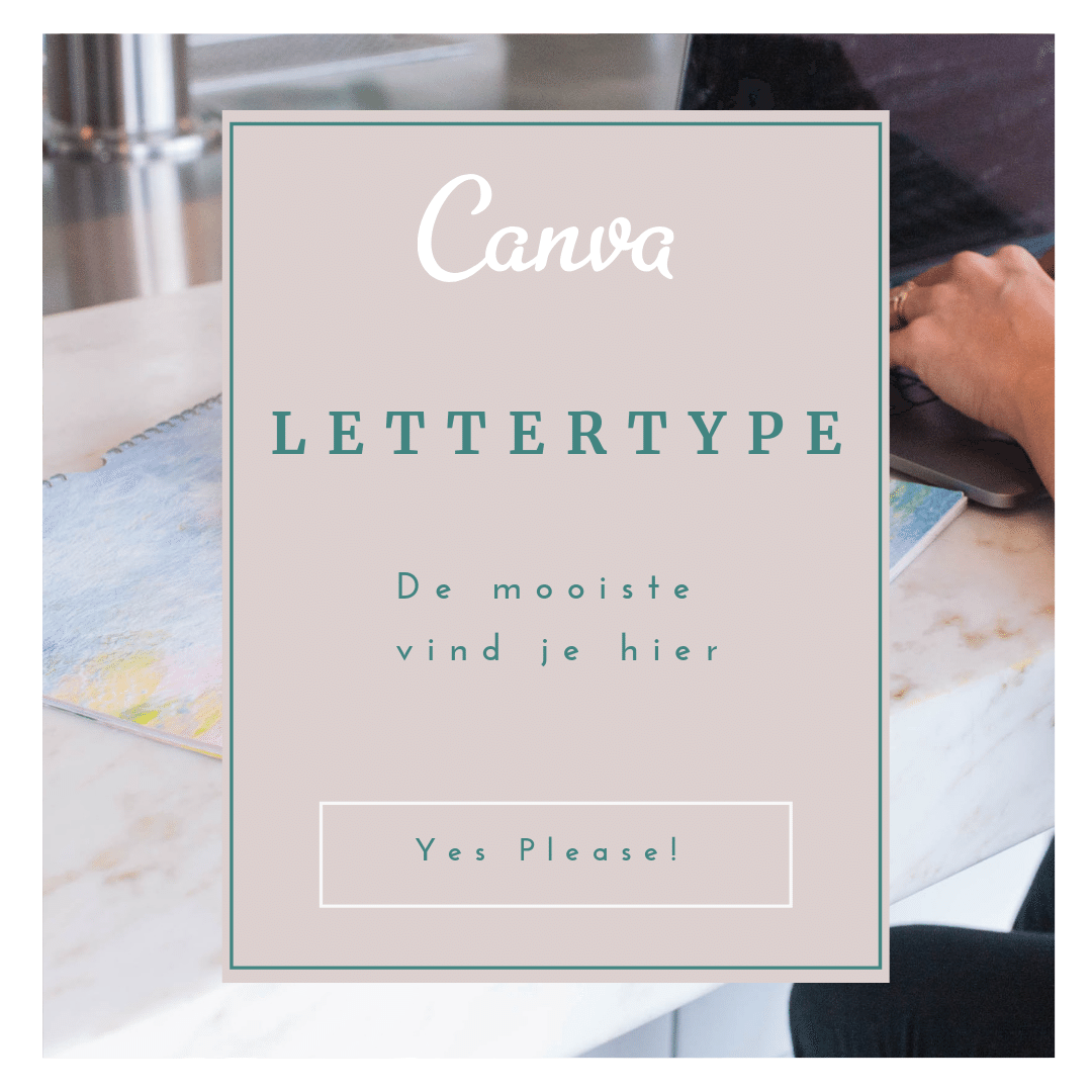 lettertypes in Canva