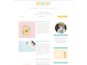 wordpress themes creative