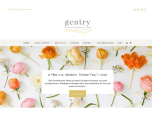 wordpress themes gentry