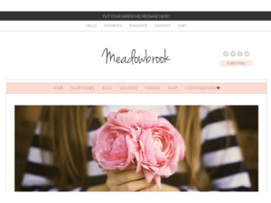 wordpress themes meadowbrook