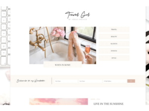 wordpress themes travelgirl