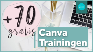 70 Gratis Canva Trainingen